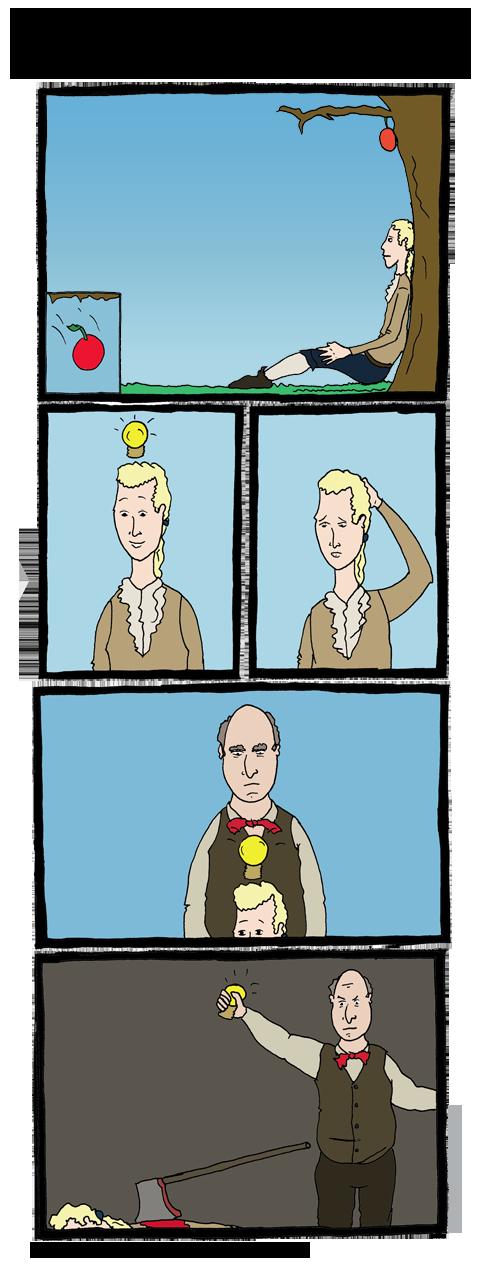 סיפורו של אייזיק ניוטון